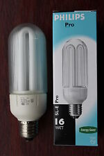 Philips ES E27 SL-E Pro Electronic Prismatic Cover 16w Low Energy Bulb 950lm