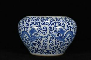 China Ancient porcelain Yuan dynasty colourful Mandarin Duck Phoenix pattern jar