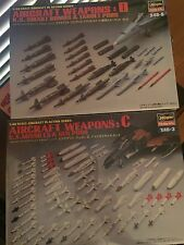 Hasegawa 1/48 Weapon Sets C & D