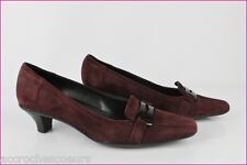 Court shoes GEOX Breathed Suede Bordeaux T 37 VERY GOOD CONDITION