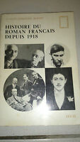 Histoire du roman français depuis 1918 - Claude-Edmonde Magny - Seuil (1950)