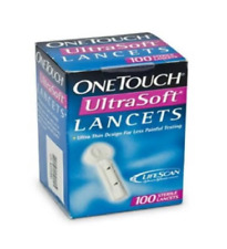 One Touch Ultra Soft 100's Lancets 1 x