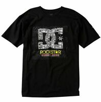 Genuine DC Shoes Rockstar Collaboration Shifter T Shirt Black or White