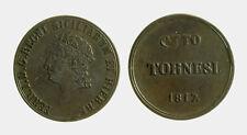 143) Napoli regno Ferdinando I (1816-1825) 8 Tornesi 1817
