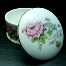CHELSEA MANOR TRINKET/PILL BOX-FINE BONE CHINA GIFT WARE-MADE IN STAFFORDSHIRE