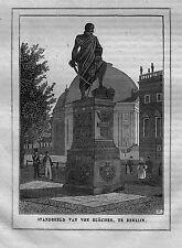 BLÜCHER**BLÜCHER-DENKMAL IN BERLIN**1843**