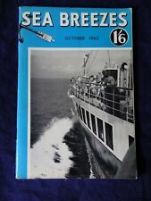 SEA BREEZES Magazine vol. 34, no. 202 October1962. (Rea's of Liverpool)