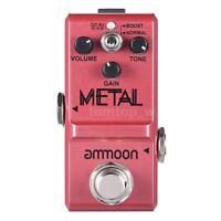 ammoon Nano Series Heavy Metal Distortion Guitar Effect Pedal True Bypass Hot