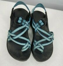 Chaco Blue Strappy Toe Loop Women's Sandals Size US 6 M