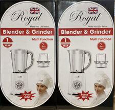 500W White  MULTI BLENDER FOOD PROCESSOR JUICER SMOOTHIE MAKER COFFEE GRINDER