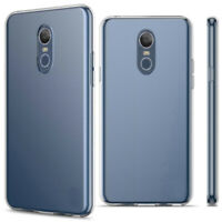 For LG Stylo 4/5 Plus Shockproof Ultra Slim Clear Silicone TPU Rubber Case Cover