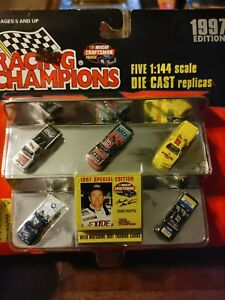 NASCAR Truck Racing Champions 5-Pack-1:144 Scale Die Cast Replicas 1997