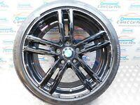 """BMW 1 2 Series 18"""" Alloy Style 719 M 7.5J Bridgestone RFT 4mm F20 F22 8074185"""