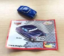 SORPRESINE MAGIC KINDER - SERIE CARS DISNEY PIXAR - 2S-204 + CARTINA - WITH BPZ