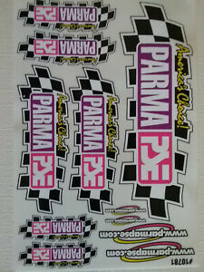 Parma 10781 America's Choice Decals - 11 Slot car Self Stick Decals