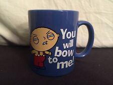 "Family Guy ""You Will Bow To Me"" Stewie Coffee Mug Cup Cartoon Tv"