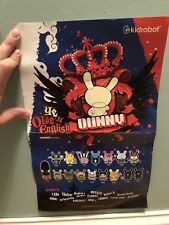 Ye Olde English Dunny Series Poster By Kidrobot