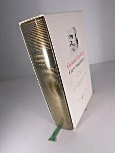 PLEIADE- GUSTAVE FLAUBERT- CORRESPONDANCE III -Relié-ÉTUI-1991-LITTERATURE #
