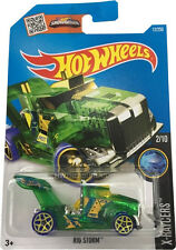 Hot Wheels 2015 Rig Storm X-Racers 2/10 by Mattel NIB 12/250 NIP HW