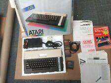 Atari 800XL Computer - Working and Boxed + Cartridges