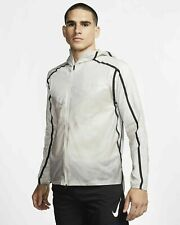 NIKE TECH PACK MEN'S RUNNING JACKET MOON PARTICLE/ BLACK NEW AQ6711 286 M