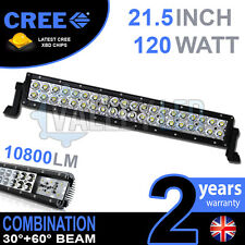 "20"" 120w Cree LED Light Bar Combo IP68 XBD Driving light Alloy Off Road 4WD Boat"
