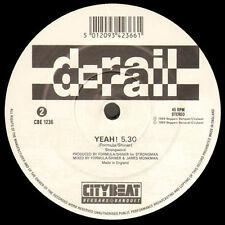 D-RAIL - Station Of Love / Yeah ! - 1989 City Beat - CBE 1236 - Uk