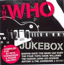 MOJO The Who Jukebox 15trk CD NEW Antony & The Johnsons Hank Williams Jimmy Reed