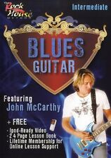 John McCarthy Blues Guitar Intermediate Learn to Play Jazz Guitar Music DVD