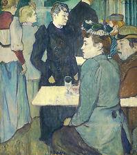 Toulouse-Lautrec: A Corner of the Moulin de la Galette - Fine Art Print