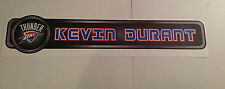 "Kevin Durant Fathead Name Banner Sign 34"" x 6.5"" Official Wall Graphics Thunder"