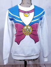 Womens Size M Anime Harajuku Sailor Moon Kawaii Sweatshirt Costume Top