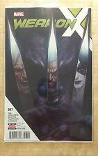 Weapon X #7 (2017) Weapons Mutant Destruction Tie In Batch H WMD