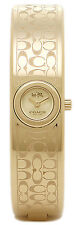 Coach 14502625 Scout Gold Tone Dial Gold Tone Stainless Steel Women's Watch