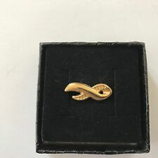 CHARITY BRASS  PIN BADGE Collectors Item  Great Condition Freepost