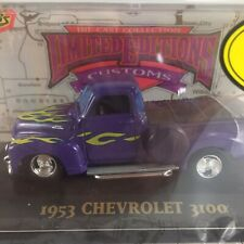 1953 Chevrolet 3100 - 1/43 Scale, Limited Edition Customs, Die Cast Metal (1996)