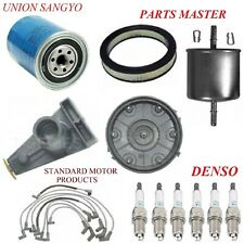 Tune Up Kit Filters Cap Wire Plugs For FORD THUNDERBIRD V6 3.8L; w/o EEC IV 1984