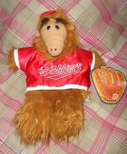 Vintage ALF Hand Puppet Plush w Tag Baseball Burger KIng Orbiters