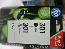 HP 301 Ink Cartridge Original Sealed combo pack