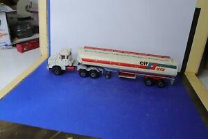 MAJORETTE ancienne 1/60 camion semi-remorque citerne ANTAR ELF