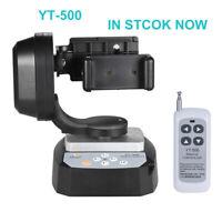 ZIFON YT-500 Remote Control Pan Tilt Auto Rotating Tripod Head for Smartphone