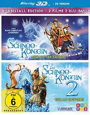 "3d Blu-ray * la nieve reina 1 + 2 ~ 3 d # nuevo embalaje original"""
