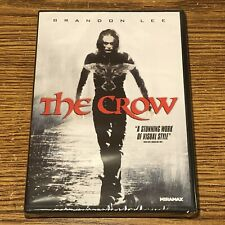 The Crow Dvd Brandon Lee 2-Disk Set Special Features 1994 Sci-Fi Movie Brand New
