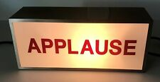 Lighted Box Applause Sign Model P-2364 Wall Mount or Desk w/ Line Switch L👀K!