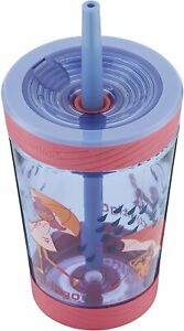 Contigo Kids Spill Proof Drinks Tumbler Cup Water Bottle with Straw 420ml - Pink