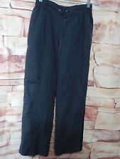 UNISEX ELASTIC / DRAW STRING WAIST POLYESTER PANT'S BY ASPIRE / SIZE M
