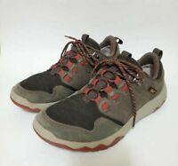 Teva Mens 8.5 Arrowood Venture WP Waterproof Shoes Gray 1012451 Low Sneakers