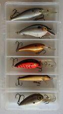 Bass Fishing Rapala Lot with Case