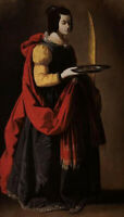 """high quality oil painting handpainted on canvas """"saint lucy"""""""