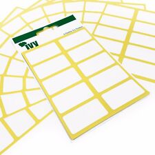 300 autoadesivo adesivo bianco Etichette/ADESIVI - 19 x 38 mm - Ivy CANCELLERIA